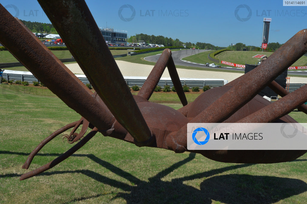 25-27 April, 2014, Birmingham, Alabama USA #67 Josef Newgarden Hartman Oil/Sarah Fisher Hatman Racing through Spider turn's 5 & 6 © 2014, Dan R. Boyd LAT Photo USA