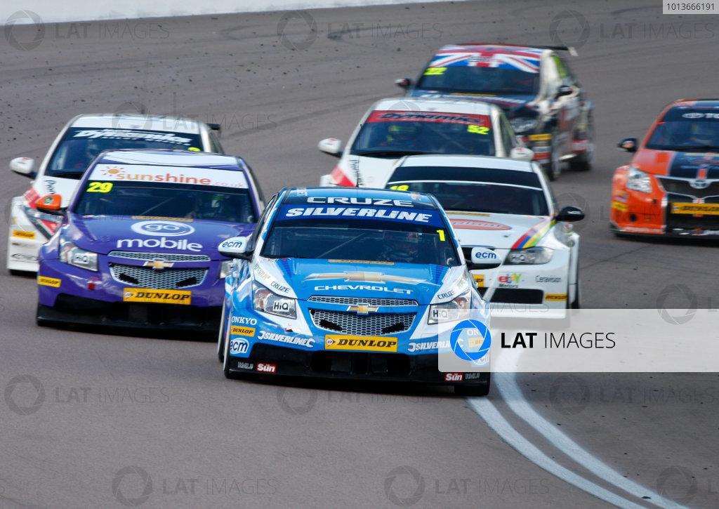 Rockingham, Northamptonshire. 17th - 18th September 2011.Jason Plato (GBR) Team Silverline Chevrolet Cruze.World Copyright: Ebrey/LAT Photographic.