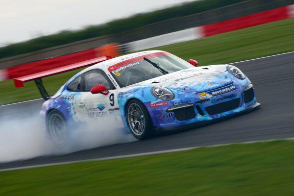 2017 Porsche Carrera Cup GB,  Snetterton. 29th-30th July 2017, David Fairbrother (GBR) Slidesports Porsche Carrera Cup  World copyright. JEP/LAT Photographic