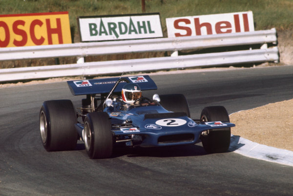 """Kyalami, South Africa. .5-7 March 1970.  Georges """"Johnny"""" Servoz-Gavin (Tyrrell Racing/March 701 Ford).  Ref: 70 SA 08. World Copyright: LAT Photographic"""