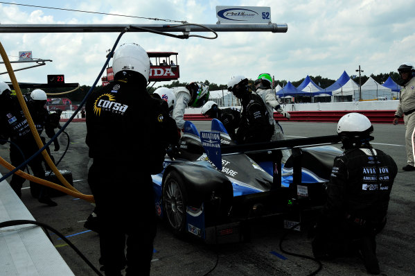 3-4 August, 2012, Lexington, Ohio USARudy Junco/Marino Franchitti pitstop(c)2012, Gregg FeistmanLAT Photo USA