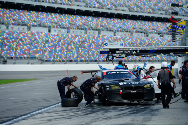 8-10 January,  2016, Daytona Beach, Florida USA 25, BMW, F13 M6, GTLM, Bill Auberlen, Dirk Werner, Augusto Farfus, Bruno Spengler ©2016, Richard Dole LAT Photo USA