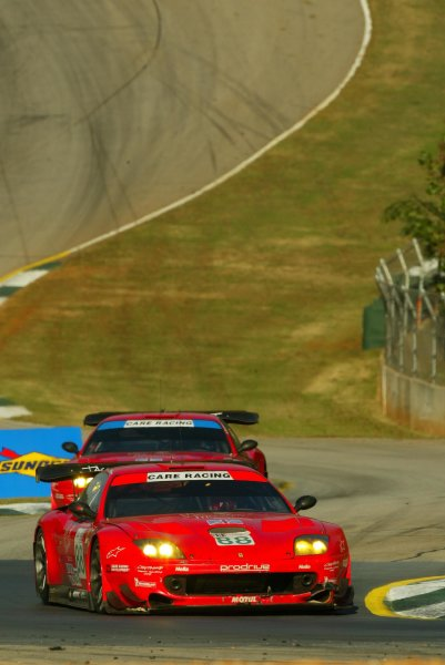 2003 ALMS Petit LeMansProdrive Ferrari 88 in the esses.September 15 - 18, 2003, Winder, GA, USA,Copyright: Richard Dole/LAT Photographic