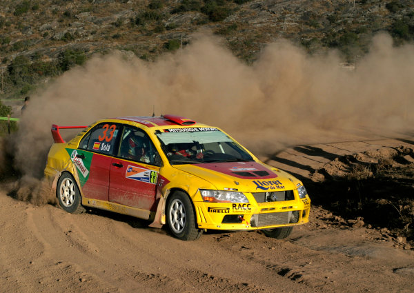 2004 FIA World Rally Championship, Round 8Rally Argentina. 15th-18th July 2004Daniel Sola, Grp N Mitsubishi, ActionWorld Copyright: McKlein/LAT Photographic