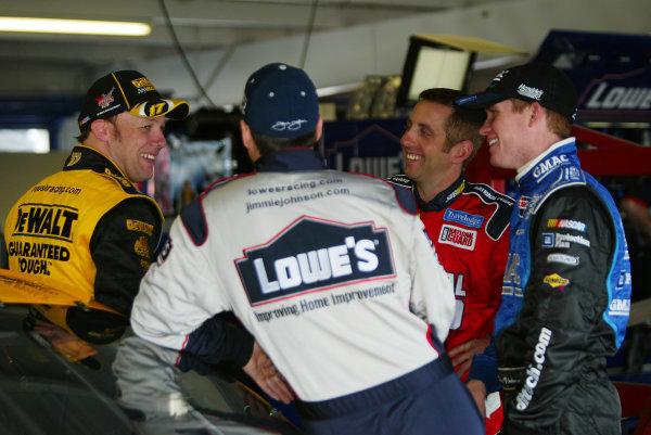 2004 NASCAR Daytona 5002004 NASCAR Nextel Cup Daytona 500,Florida,USA,15th February, Matt Kenseth, Jimmie Johnson, Greg Biffle, Brian Vickers- Michael Kim, USA LAT Photographic