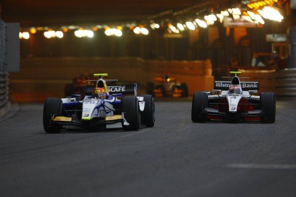 2008 GP2 Series. Round 3. Saturday Race. Monte-Carlo, Monaco. 24th May 2008.Diego Nunes (BRA, David Price Racing). Action. World Copyright: Charles Coates/GP2 Series Media Service.ref:__26Y9577 jpg