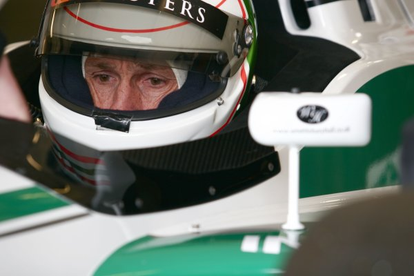 2006 Grand Prix Masters.Silverstone, England. 11th - 13th August.Andrea De Cesaris.Portrait.World Copyright: Drew Gibson/LAT Photographic.Ref: Digital Image Only.