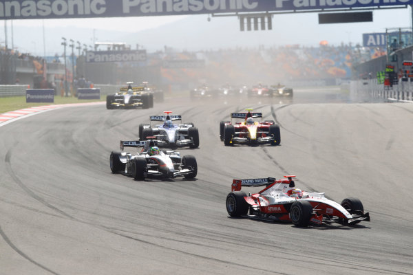 Round 3 Istanbul Park, Istanbul Turkey. 29th May. Saturday Race.Jules Bianchi (FRA, ART Grand Prix). Action. Photo: Andrew Ferraro/GP2 Media Service.Ref: _Q0C1719 jpg