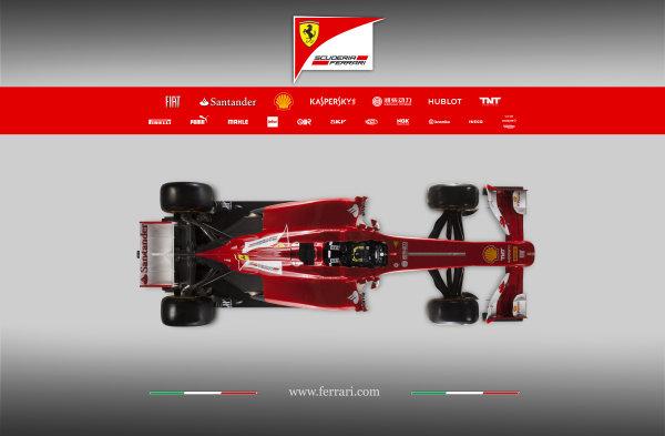 Maranello, Italy   The new Ferrari F138. Studio image. Photo: Ferrari (  ref: Digital Image 130004_f138
