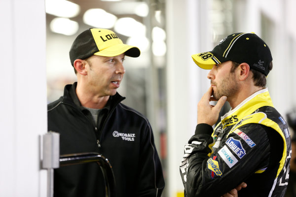 15-23 February, 2013, Daytona Beach, Florida, USA Chad Knaus and Jimmie Johnson.(c) 2013, Michael L. Levitt LAT Photo USA