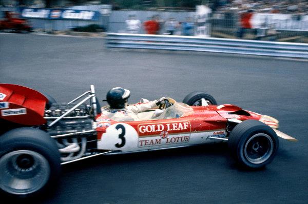 Monte Carlo, Monaco.7-10 May 1970.Jochen Rindt (Lotus 49C Ford) 1st position.Ref-70 MON 03.World Copyright - LAT Photographic