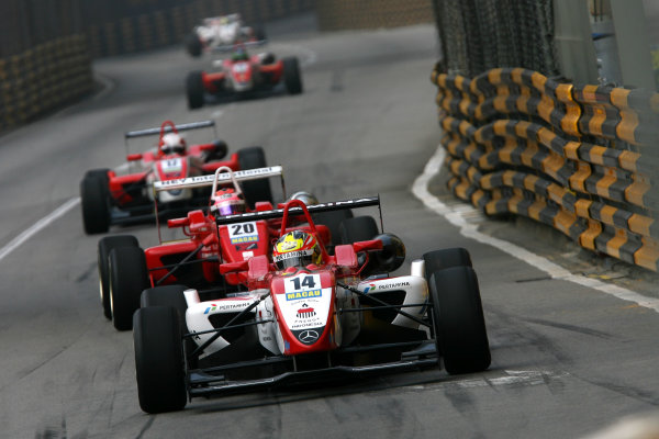 Circuit de Guia, Macau. 18th - 21st November 2010.Rio Haryanto (INA) Raikkonen Robertson Racing Dallara Mercedes.World Copyright: Ebrey/LAT Photographic.