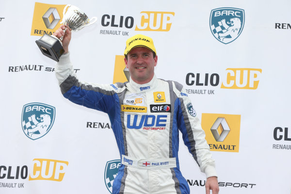 2015 Renault Clio Cup, Knockhil, Scotland 22nd-23rd August 2015, Paul Rivett (GBR) WDE Motorsport Renault Clio Cup  World copyright. Ebrey/LAT Photographic