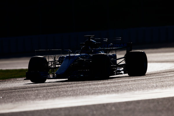 Circuit de Barcelona Catalunya, Barcelona, Spain. Tuesday 07 March 2017. Lewis Hamilton, Mercedes F1 W08 EQ Power+. World Copyright: Zak Mauger/LAT Images ref: Digital Image _X0W5919