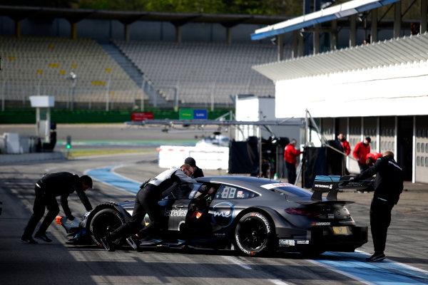 2017 DTM Testing & Media Day Hockenheim, Germany. Thursday 6 April 2017. Robert Wickens, Mercedes-AMG Team HWA, Mercedes-AMG C63 DTM. World Copyright: Alexander Trienitz/LAT Images ref: Digital Image 2017-DTM-MD-HH-AT1-0867