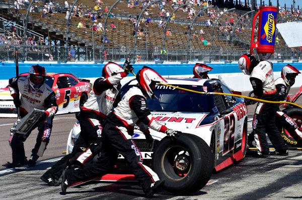 2017 NASCAR Xfinity Series DC Solar 200 Phoenix International Raceway, Avondale, AZ USA Saturday 18 March 2017 Ryan Blaney World Copyright: Rusty Jarrett/LAT Images ref: Digital Image 17PHX1rj_2339