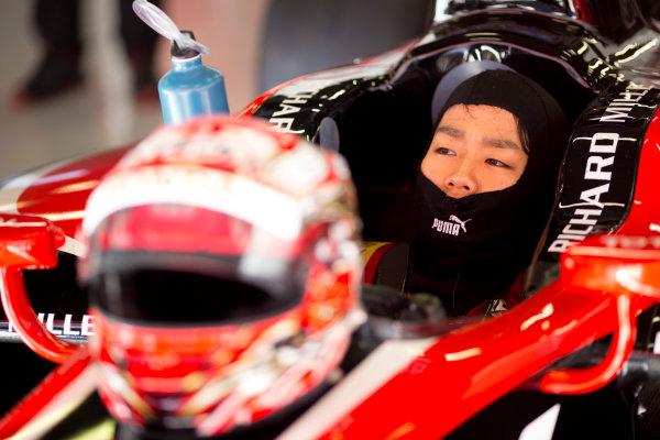 Circuit de Barcelona Catalunya, Barcelona, Spain. Tuesday 14 March 2017. Nobuharu Matsushita (JPN, ART Grand Prix). Photo: Alastair Staley/FIA Formula 2 ref: Digital Image 585A7871