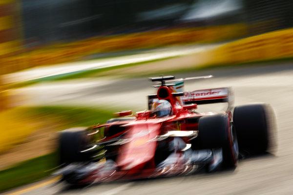 Albert Park, Melbourne, Australia. Friday 24 March 2017. Sebastian Vettel, Ferrari SF70H. World Copyright: Andy Hone/LAT Images ref: Digital Image _ONY1079