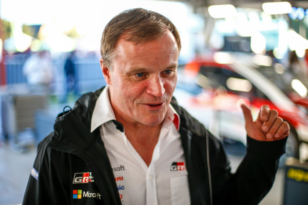 2017 FIA World Rally Championship, Round 05, Rally Argentina, April 27-30, 2017, Tommi Makinen, Toyota, Portrait, Worldwide Copyright: McKlein/LAT