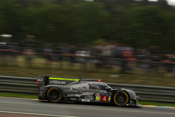 2016 Le Mans 24 Hours Test day, Le Mans, France. 5th June 2016. Simon Trummer / Oliver Webb / Pierre Kaffer - ByKolles Racing Team CLM P1/04 - AER. World Copyright: Ebrey / LAT Photographic.