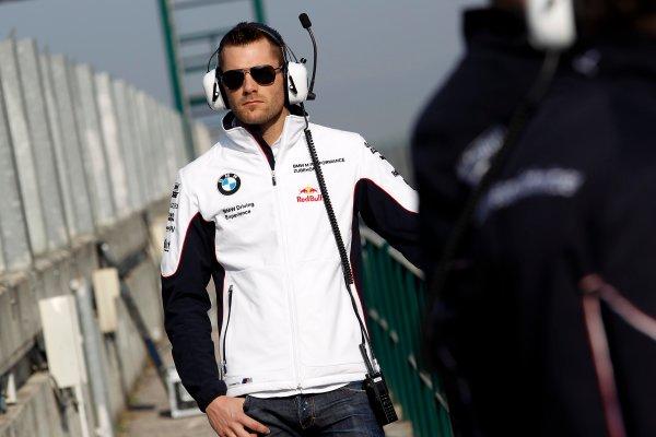 2014 DTM Testing. Hungaroring, Hungary. 31st March 2014. Martin Tomczyk (GER) BMW Team Schnitzer, Portrait World Copyright: XPB / LAT Photographic. Ref: 3030919_HiRes.jpg