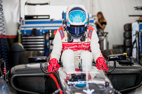 2017 FIA Formula 2 Round 4. Baku City Circuit, Baku, Azerbaijan. Friday 23 June 2017. Nyck De Vries (NED, Rapax)  Photo: Zak Mauger/FIA Formula 2. ref: Digital Image _56I6597
