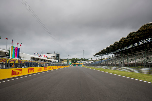 2017 GP3 Series Round 4.  Hungaroring, Budapest, Hungary. Thursday 27 July 2017. A view of the circuit. Photo: Zak Mauger/GP3 Series Media Service. ref: Digital Image _56I0061