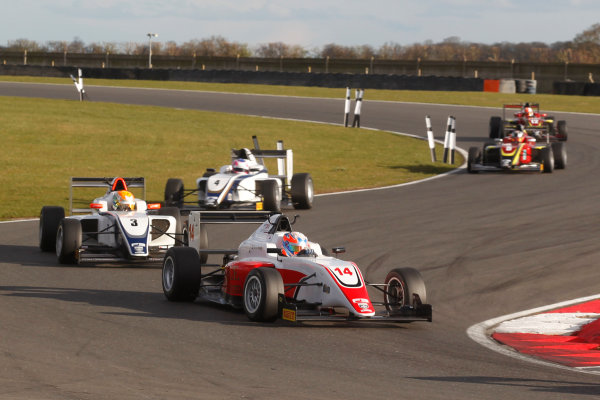 2016 BRDC British Formula 3 Championship, Snetterton, Norfolk. 27th - 28th March 2016. Tarun Reddy (IND) Fortec Motorsports BRDC F3. World Copyright: Ebrey / LAT Photographic.