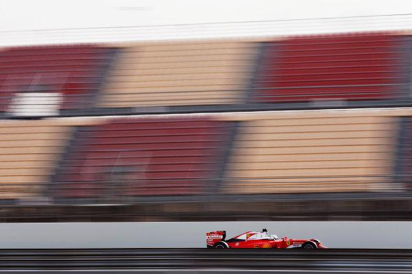 Circuit de Catalunya, Barcelona, Spain Monday 22 February 2016. Sebastian Vettel, Ferrari SF16-H. World Copyright: Alastair Staley/LAT Photographic ref: Digital Image _79P9722
