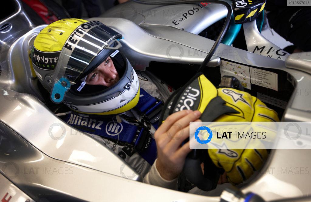 Albert Park, Melbourne, Australia 24th March 2011. Nico Rosberg, Mercedes GP W02. Portrait. Helmets.  World Copyright: Steve Etherington/LAT Photographic ref: Digital Image SNE25085