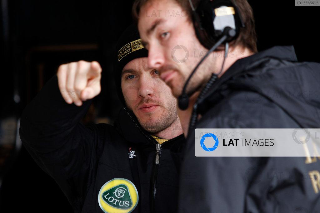 Albert Park, Melbourne, Australia 25th March 2011. Nick Heidfeld, Lotus Renault GP R31. Portrait.  World Copyright: Andrew Ferraro/LAT Photographic ref: Digital Image _Q0C7642