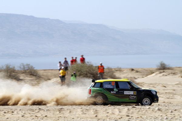 Round 04 Rally Jordan. 14th-16th April 2011.Daniel Oliveira, Mini WRC, Action.Worldwide Copyright: McKlein/LAT