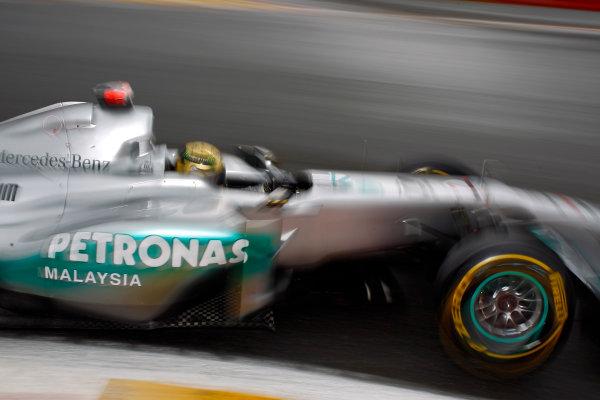 Spa-Francorchamps, Spa, Belgium25th August 2011.Michael Schumacher, Mercedes GP W02. Action. World Copyright: Steven Tee/LAT Photographicref: Digital Image _A8C4990