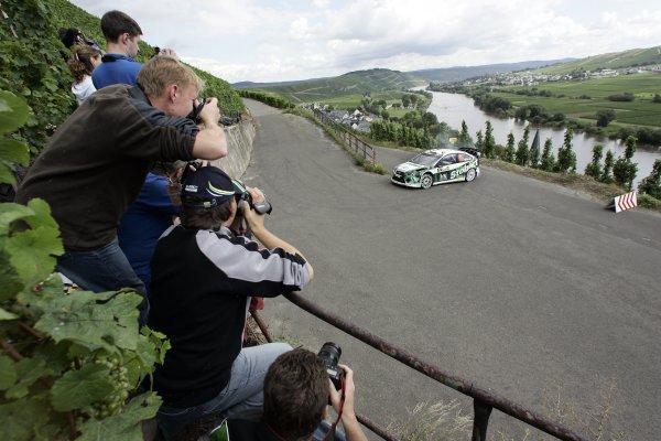 FIA World Rally Championship 2007Round 10Rally Deutschland, Germany.Trier, Germany.16th - 19th August 2007Matthew Wilson, Ford, action.Worldwide copyright: McKlein/LAT