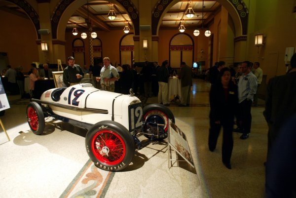 The 1922 Indy 500 winner, the No. 35 Murphy Special, on display at the GP Tours Event in Downtown Indianapolis.Formula One World Championship, Rd15, United States Grand Prix, Indianapolis, USA, 27 September 2003.DIGITAL IMAGE