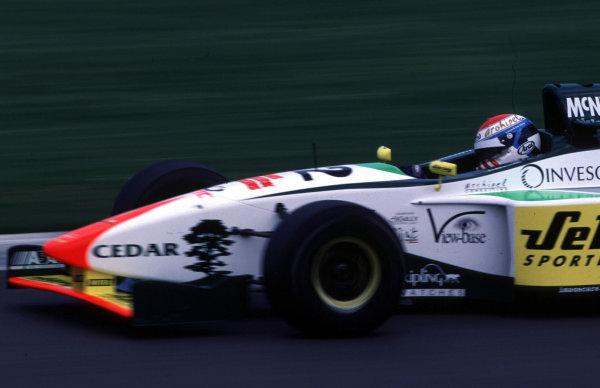 F3000 Testing.Silverstone, England. 22-23/3/2000.Bas Leinders, Kid Jensen Racing.photo: World - LAT Photographic