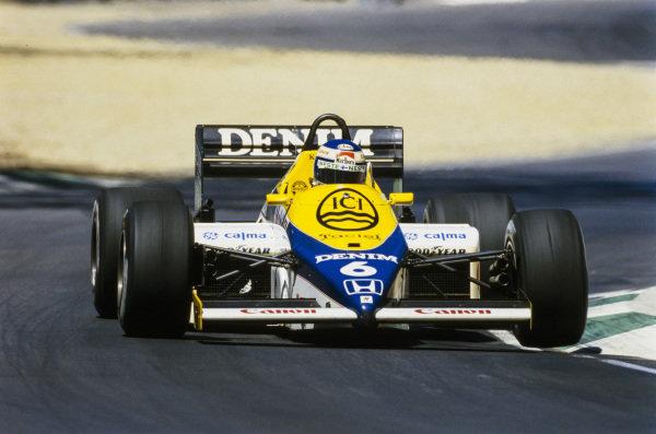 Keke Rosberg, Williams FW10 Honda.