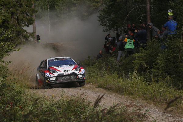 Jari-Matti Latvala (FIN), Toyota Gazoo Racing WRT, Toyota Yaris WRC 2019