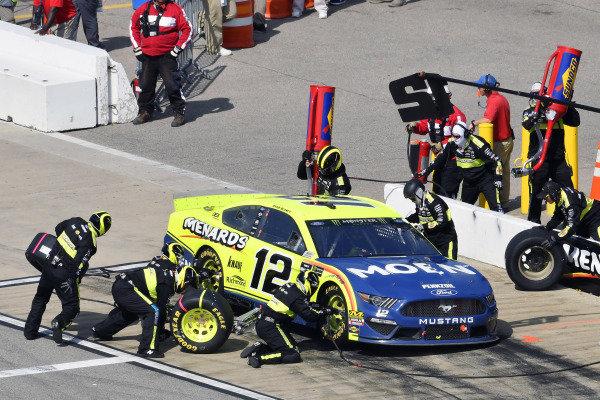 #12: Ryan Blaney, Team Penske, Ford Mustang Menards/Moen