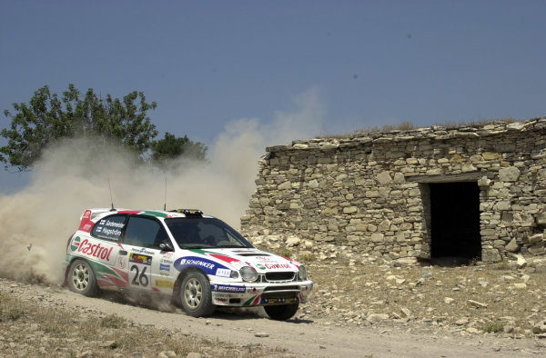 2001 World Rally ChampionshipCyprus Rally June 1-3, 2001Pasi Hagstrom, Teams Cup winner and 6th place overall collecting one driver's championship point.Photo: Ralph Hardwick/LAT
