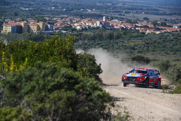 Dani Sordo (ESP), Hyundai World Rally Team, Hyundai i20 Coupe WRC 2020
