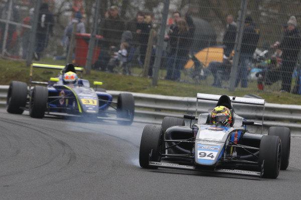 Sebastian Alvarez (MEX) Double R Racing British F4