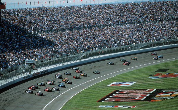 1999 CART California 500, California Speedway 31/10/99The start of the race-1999, Michael L. Levitt / USALAT PHOTOGRAPHIC