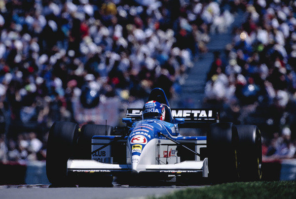1995 Canadian Grand Prix.Montreal, Quebec, Canada. 9-11 June 1995.Ukyo Katayama (Tyrrell 023 Yamaha).Ref-95 CAN 39.World Copyright - LAT Photographic