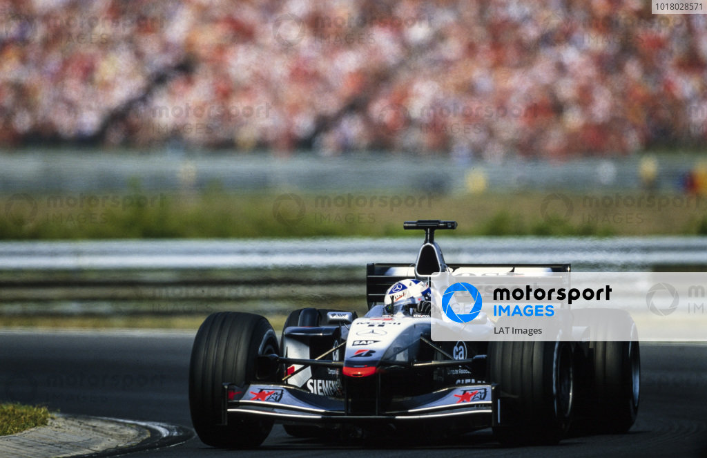 David Coulthard, McLaren MP4-16 Mercedes.