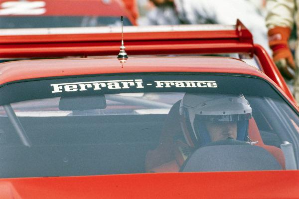 Jean Alesi, Ferrari France, Ferrari F40.