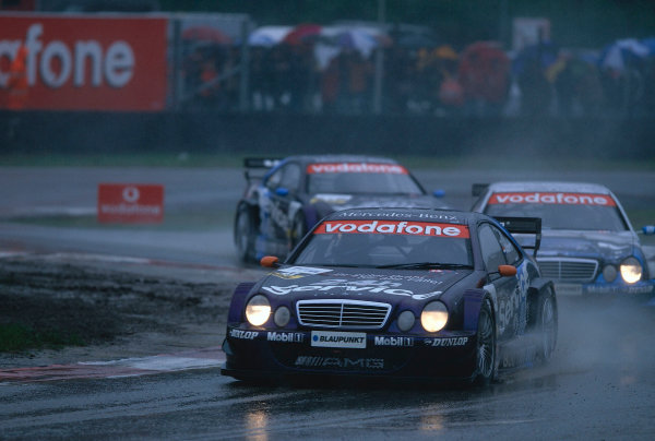 2002 DTM Championship, Zolder, Belgium. Rd 2, 4th-5th May 2002.Christian Albers was to bring out the red flag just prior to the maximum running time. Albers beached his car but managed to still keep his sixth place.World Copyright: Lawrence/LAT Photographic