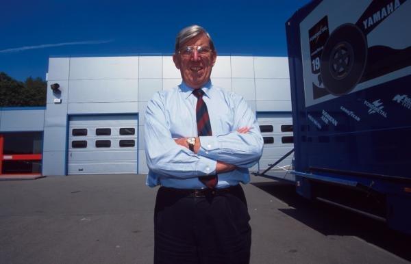 Tyrrell boss, Ken Tyrrell (GBR)1995