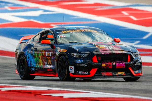 14-16 September 2016, Austin, Texas USA 76, Ford, Shelby GT350R-C, GS, Paul Holton, Pierre Kleinubing ?2016, Jake Galstad LAT Photo USA