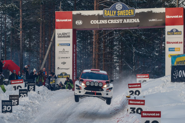 2018 FIA World Rally Championship, Round 02, Rally Sweden 2018, February 15-18, 2018. Takamoto Katsuta, Ford, Action Worldwide Copyright: McKlein/LAT